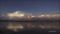 Sunrise;Gulf-Storm;Reflection;Water;Clouds;Sky;Blue-Sky;Storm