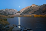 Bishop-Creek-Canyon;California;Eastern-Sierra;Fall-Foliage;Moon;North-Lake;Refle