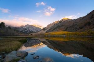 Bishop-Creek-Canyon;Blue-Sky;Blue-Water;California;Eastern-Sierra-Mountains;Fall
