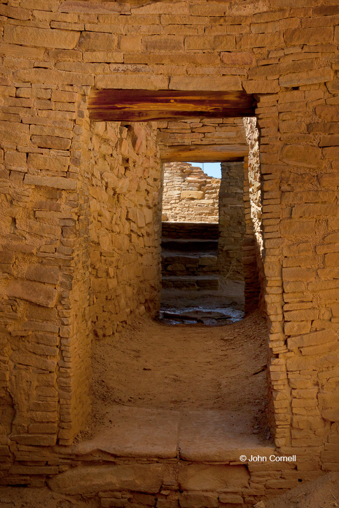 Chaco Canyon;Chaco Culture;Chaco Culture National Historical Park;Chetro Ketl;New Mexico;Pueblo Bonito;Window;World Heritage Site;door;stionework