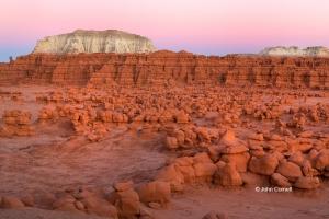 Desert;Erosion;Four-Corners;Goblin-Valley-State-Park;Hoodoos;Sandstone;Sunset;Ut