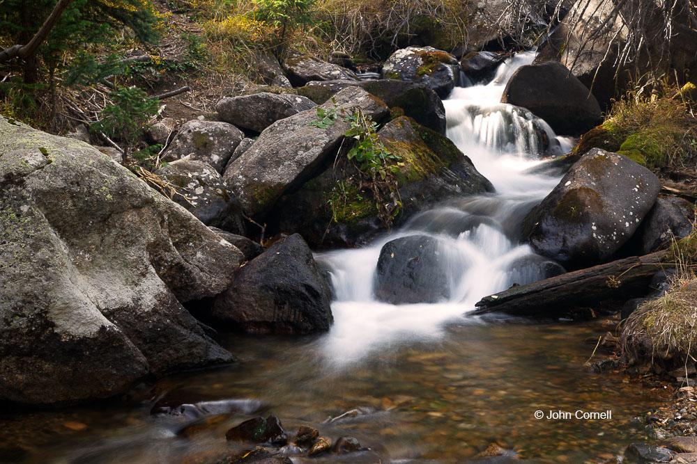 Brook;Glacier Creek;Rocks;Rocky Mountain National Park;Scenic;Warter;Water Flow;Waterfall;movement