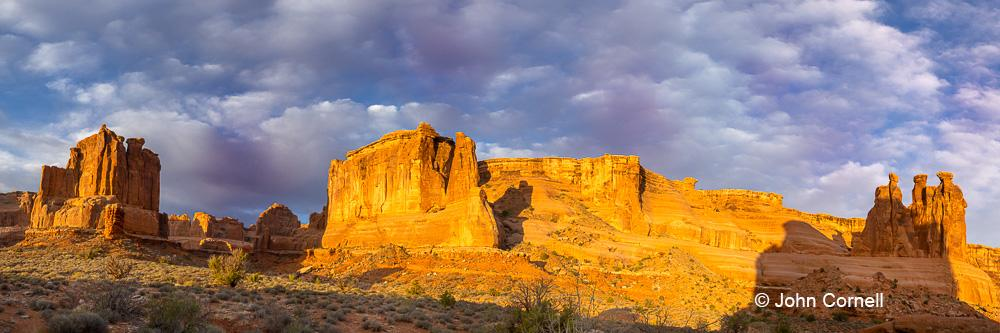 Arches National Park;Park Avenue;Three Gossips;Utah, Arches National Park, Canyon, Delicate Arch, Desert, Desert Scenic, Erosion, Red Rock, Red Rocks, Utah